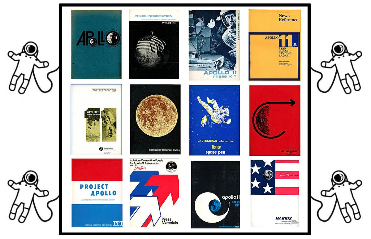 Apollo 11 contractor press kits