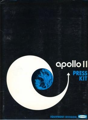 Raytheon Apollo 11 press kit