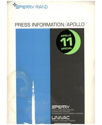 sperry-rand--press-kit